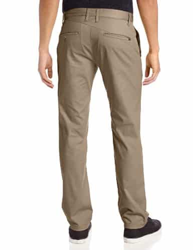 Volcom Mens Frickin Modern Fit Stretch Chino Pant