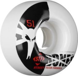 Bones STF Street Tech Formula Skateboard V4 Wheels (Standard, Set of 4)