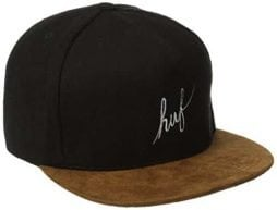 HUF Men's Wool Script Snapback