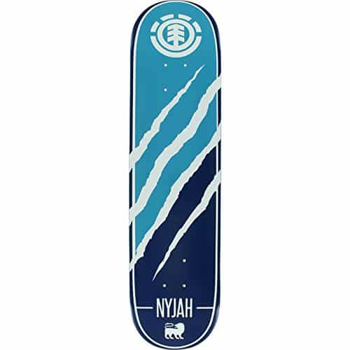 281bd283a121c Element Nyjah Huston Featherlight Silhouette Skateboard Deck - 7.75