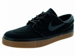 071251be6e5b NIKE Men s Zoom Stefan Janoski Black Anthracite-Gum Medium Brown Canvas  Skateboarding Shoe -