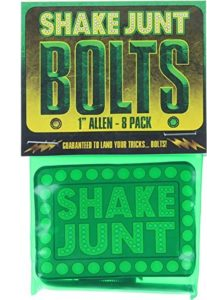 "Shake Junt Bag-O-Bolts All Green/Yellow Hardware Allen (1"")"