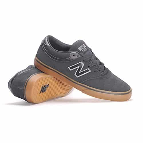 3c2214803e707 New Balance # Numeric Quincy 254 Sneakers (Black/Gum) Men's Suede Skating  Shoes