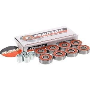 Bronson G2 Bearings Single Set Pack with Spacers+Washers