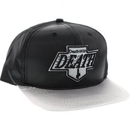 Deathwish Skateboards Death Kings Black / Grey Snapback Hat - Adjustable