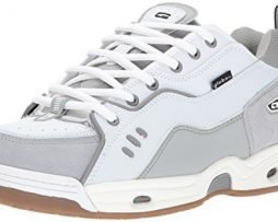 Globe Men's CT-IV Classic Skate Shoe, Grey/White, 10.5 Regular US