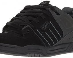 Globe Mens Fusion Skate Shoes, Black/Night, 11 M US