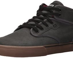 Globe Men's Motley Mid Skate Shoe, Dark Shadow/Tobacco, 12 Regular US