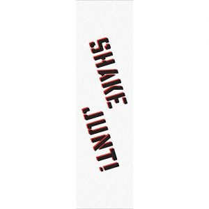 "Shake Junt Colored White / Black / Red Griptape - 9"" x 33"""