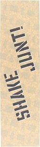 Shake Junt Single Sheet Clear GRIPTAPE 9x33 Clear/Black
