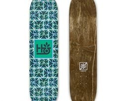 HABITAT SKATEBOARDS Aztec Pod Skateboard Deck, 8.5/X-Large