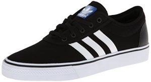 adidas Originals Men's Adi-Ease Skate Shoe,Black/White/Black,9 M US