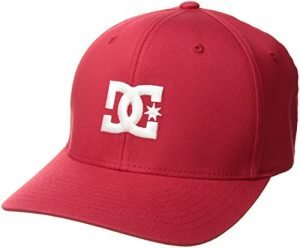 DC Men's Cap Star 2 Hat, Tango Red, L/XL