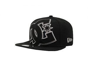 DC Men's Double Up Hat, Black, One Size