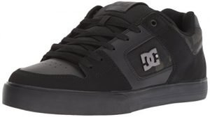 DC Men's Pure SE Skate Shoe, Black Camouflage, 10.5 Medium US