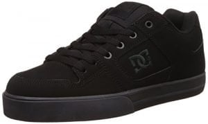 DC Men's Pure Skate Shoe, Black/Pirate Black, 13 D M US