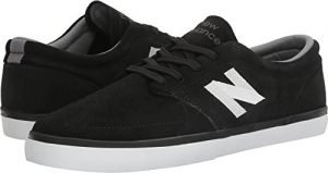 New Balance Men's NM345BW, Black/Whit, 8 D US