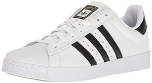 adidas Originals Men's Shoes | Superstar Vulc Adv, White/Core Black/White, (10 M US)