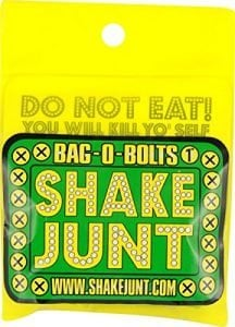 "Shake Junt Bag-O-Bolts All Hardware (Green/Yellow, 1"" Phillips)"