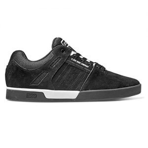 DVS Men's Skate Shoe White Black Suede Drift, 12 Medium US