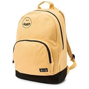Volcom Junior's School Yard Canvas Backpack, Mustard, One Size Fits All
